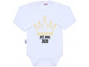 Body s potiskem New Baby Dítě roku 2020
