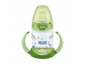 Kojenecká láhev na učení NUK 150 ml zelená dino