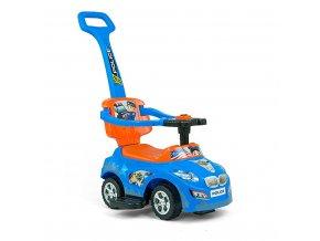 Dětské jezdítko 2v1 Milly Mally Happy blue-orange