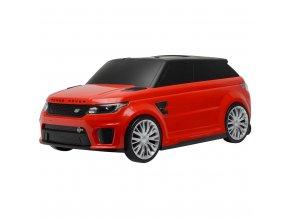 Dětské jezdítko a kufřík 2v1 BAYO Range Rover SVR red