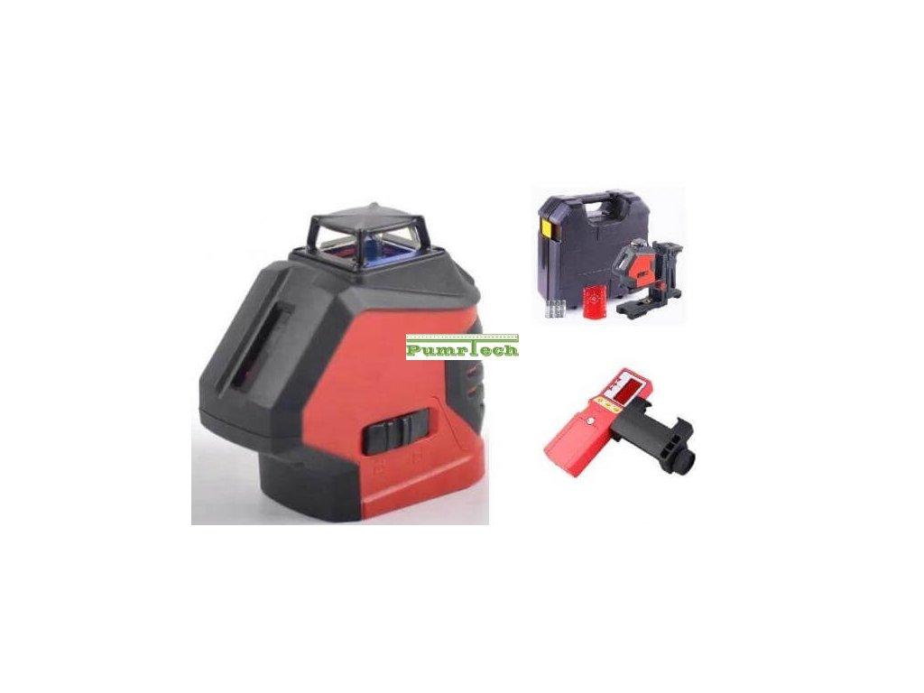 Křížový laser FKD EK 191R + přijímač