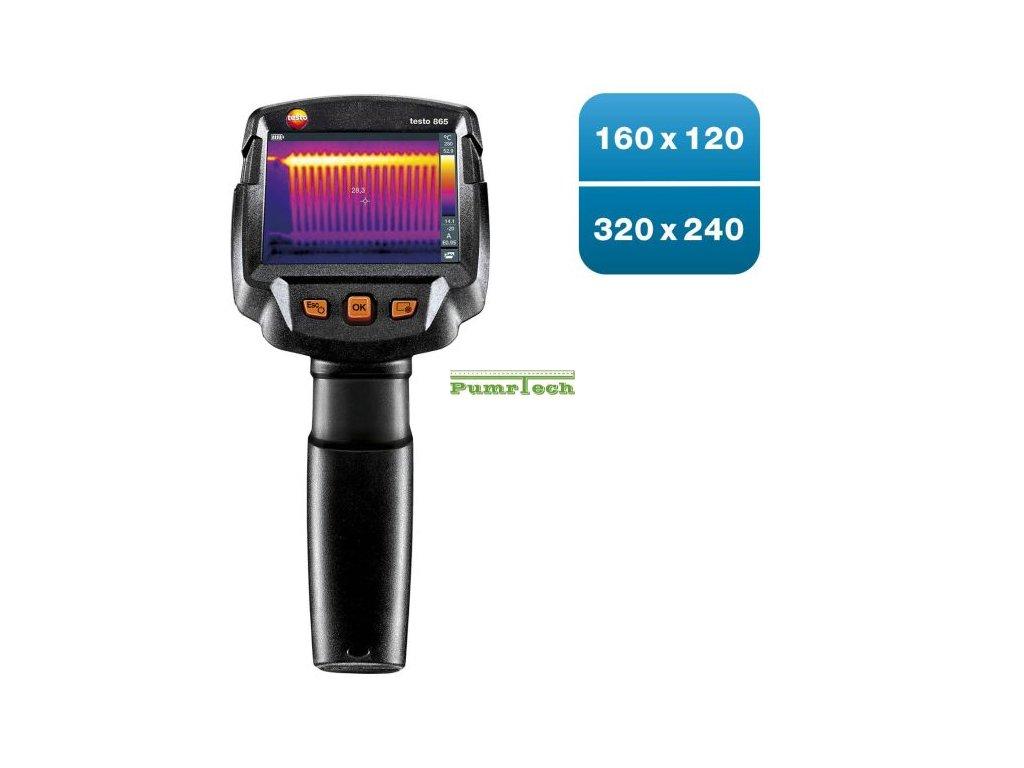 testo 865 Termokamera (160 x 120 pixelů)