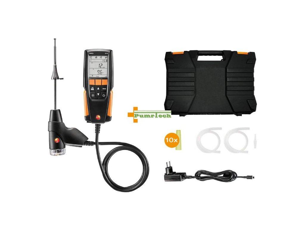 testo 310 set fluegas analyzer prl