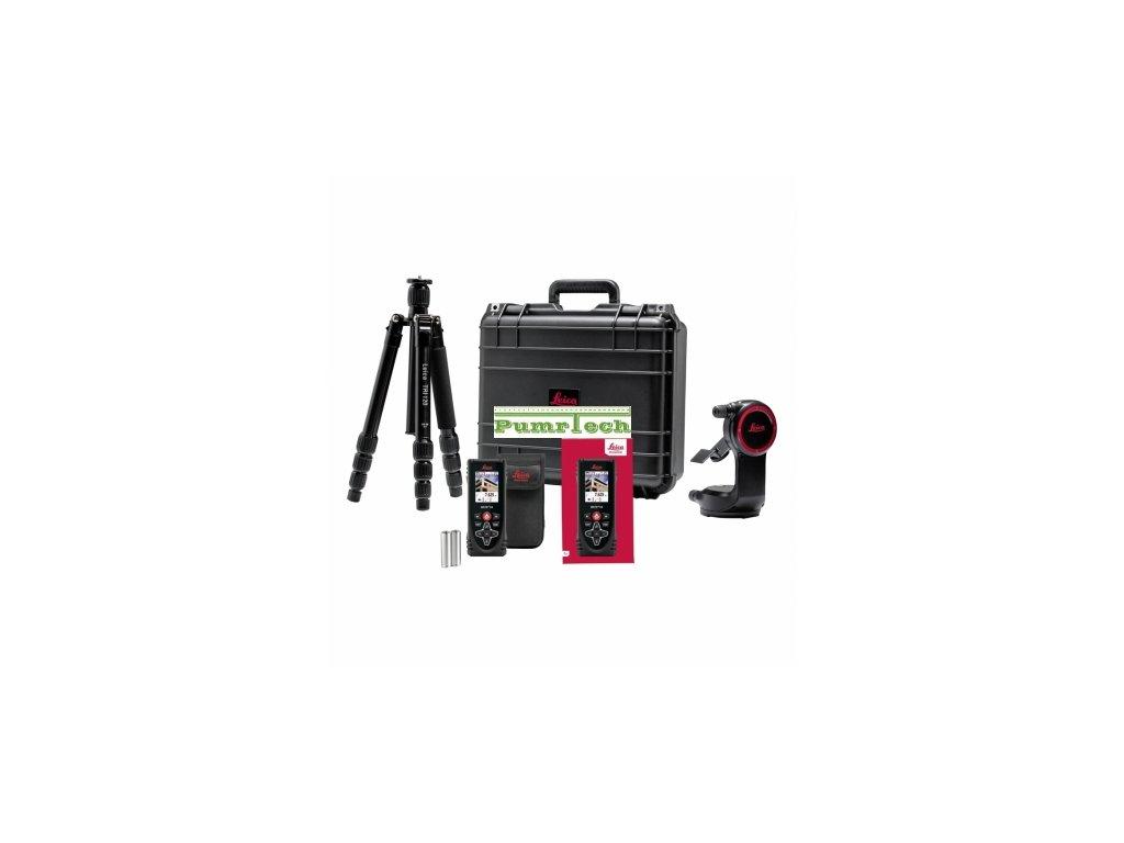 Set Leica Disto X4 s adaptérem DST360 a stativem TRI120