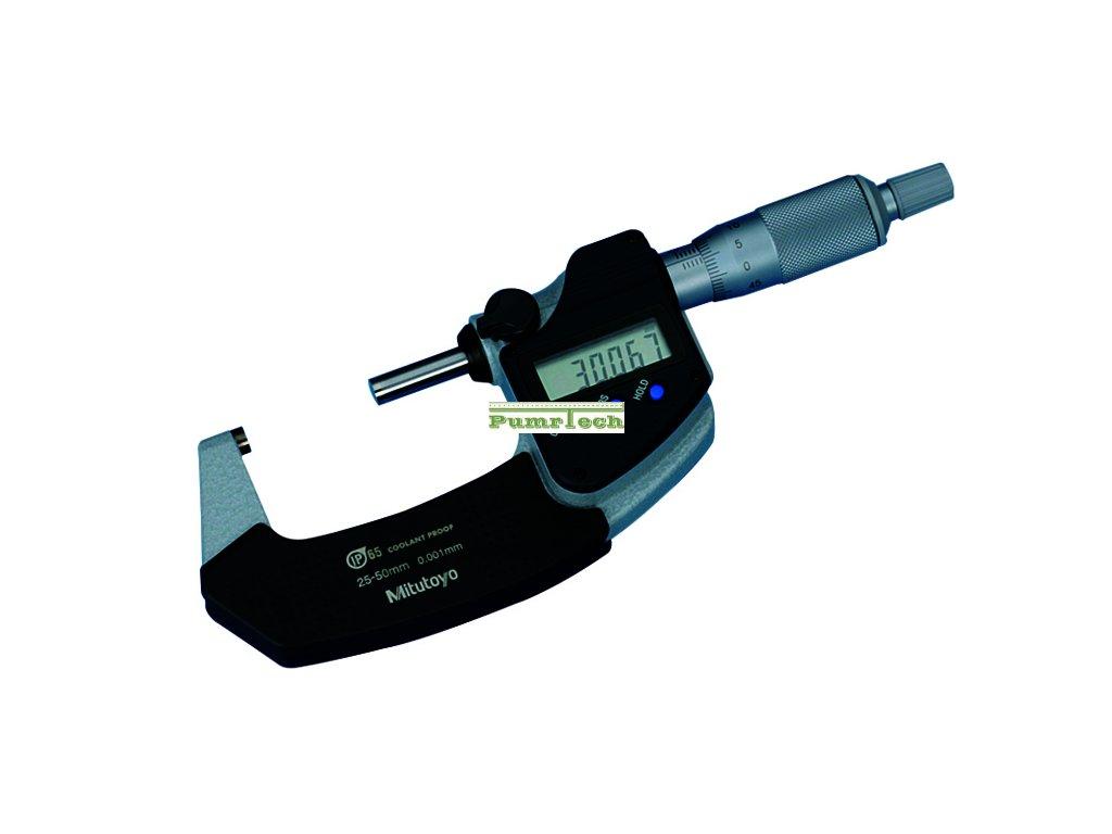 Mitutoyo digitální třmenový mikrometr 25-50mm