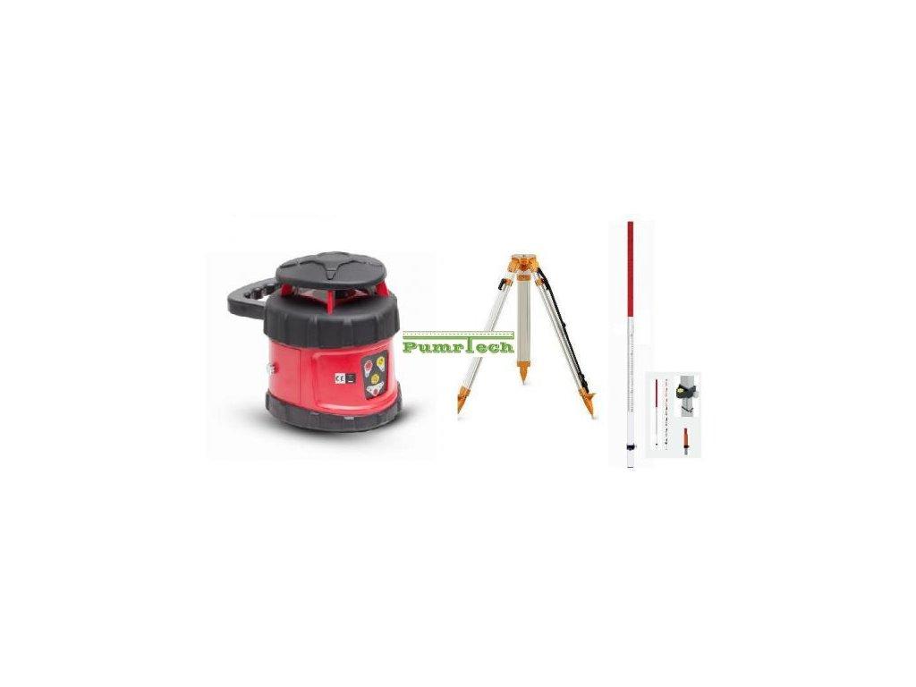 Rotační laser ADA Rotary 500 H sada + stativ, lať