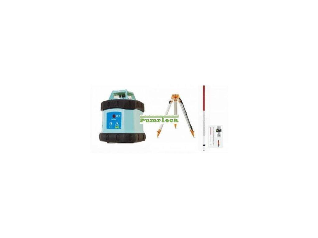 Rotacni laser Hedü Q1+stativ a lať