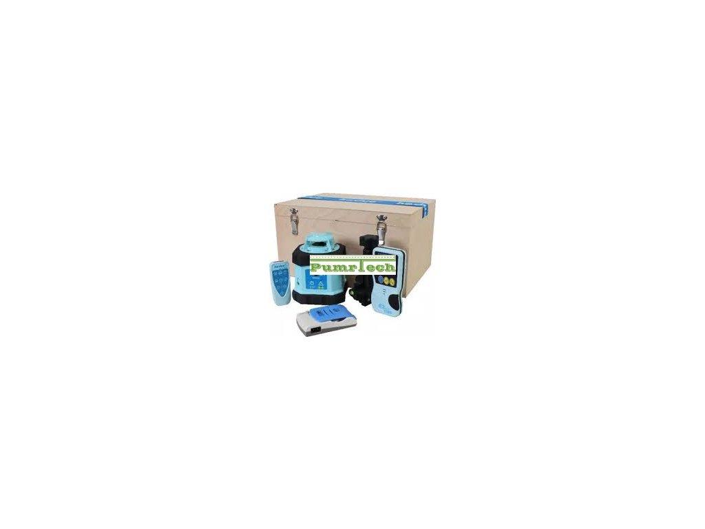 Rotační laser Hedü Q1 + stativ s klikou a lať