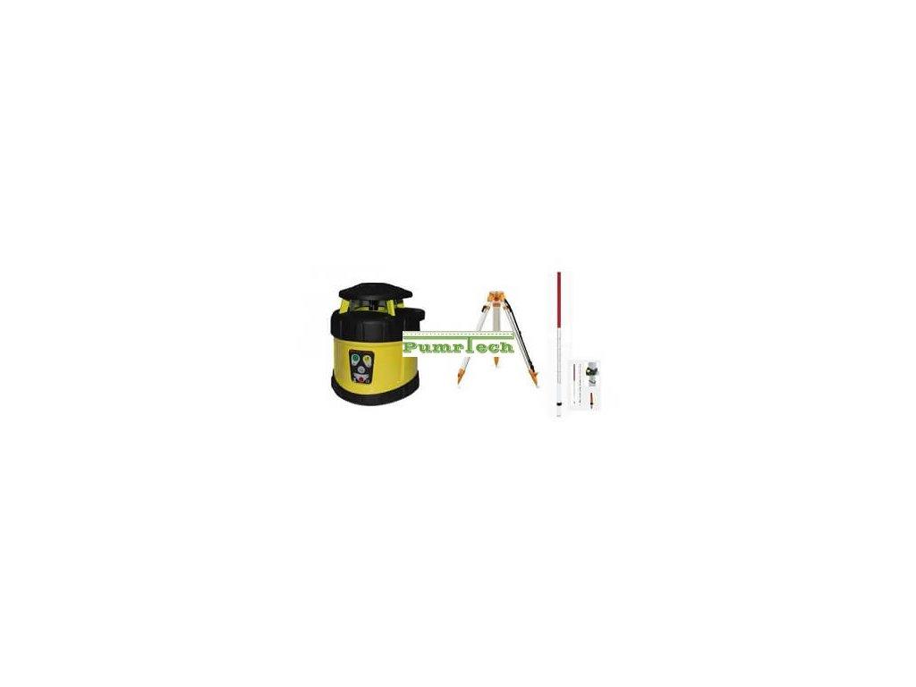 Rotační laser FKD FRE 205+stativ a lať