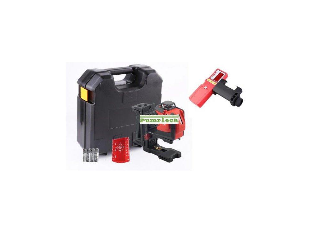 Křížový laser FKD EK 291G + přijímač