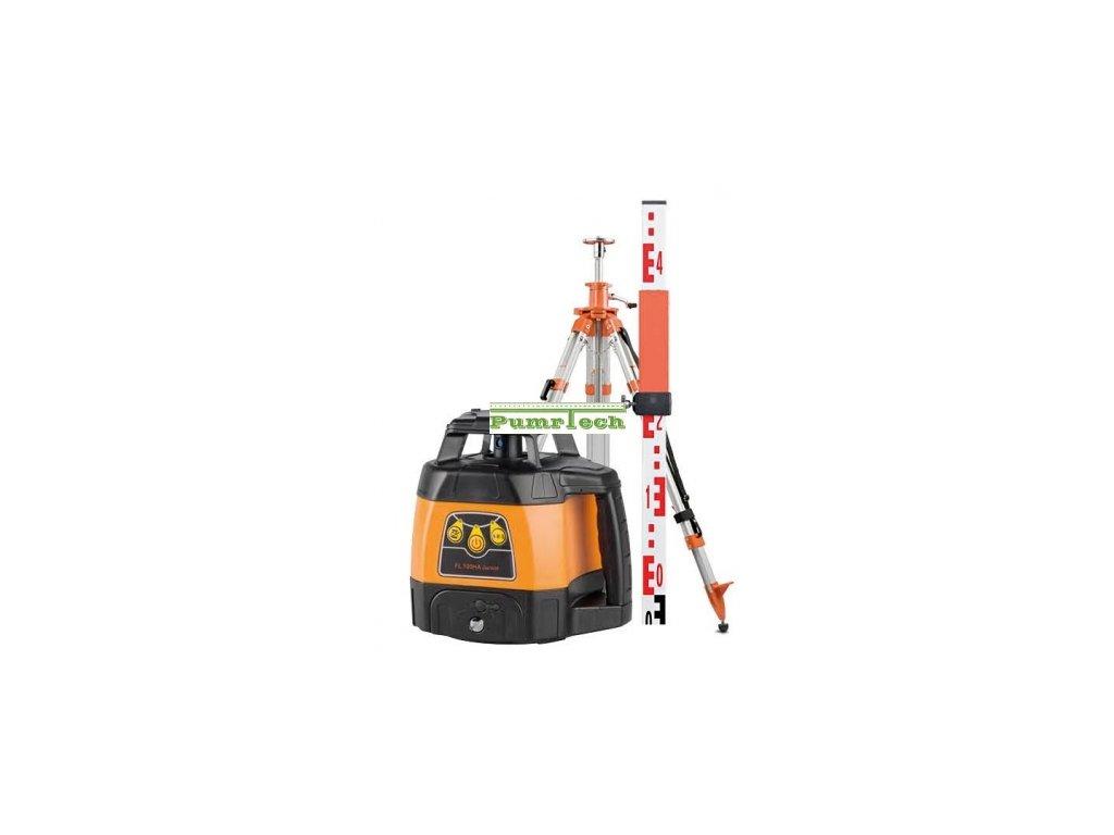 Rotační laser, Geofennl FL 105H - sada