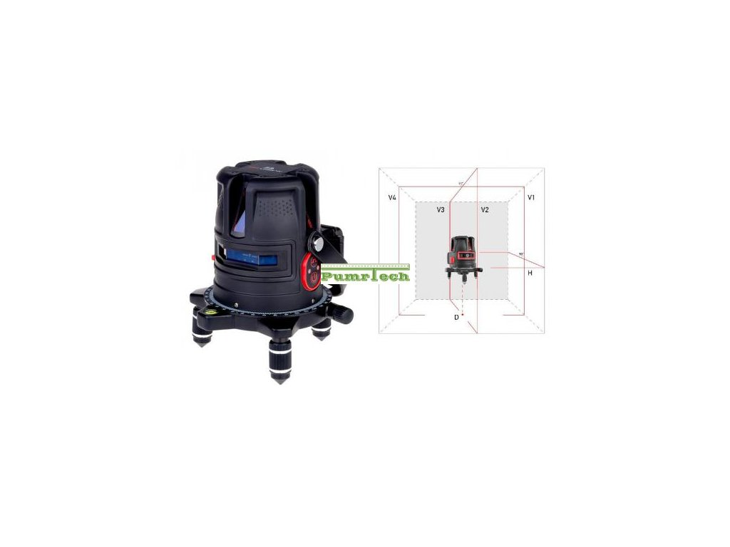 Křížový laser ADA ProLiner 4V