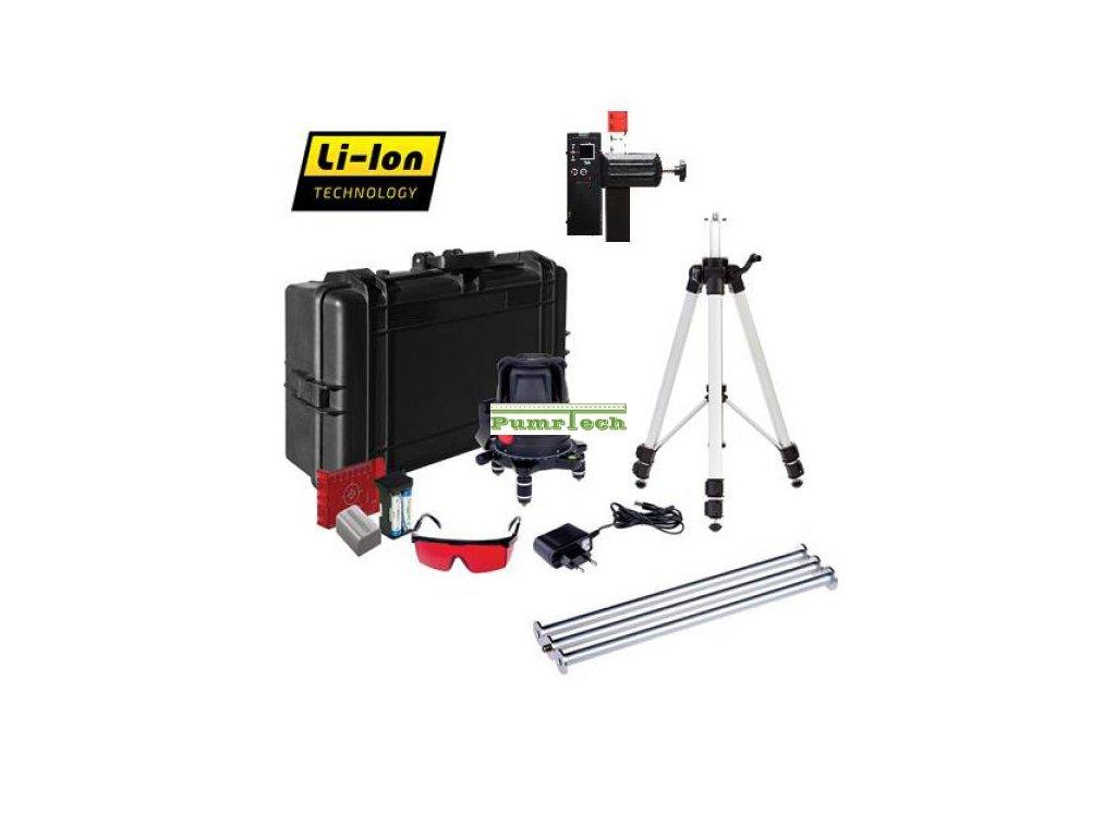 Křížový laser ADA ProLiner 4V Set + přijímač