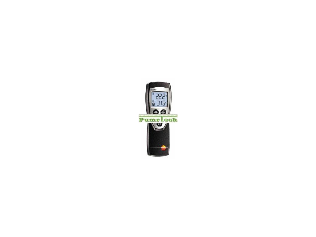testo 922 - 2-kanálový teploměr v sadě pro topenáře