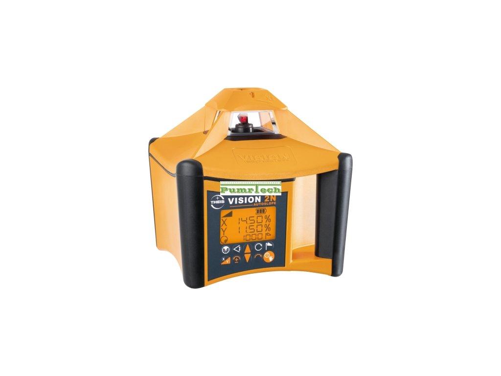 Rotační laser VISION 2N + přijímač FR77-MM + dálkové ovládání FB-V pro vodorovnou a svislou rovinu
