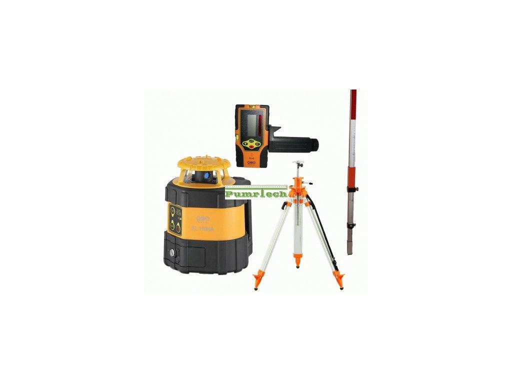 Rotační laser, Geofennel FL 115 - sada