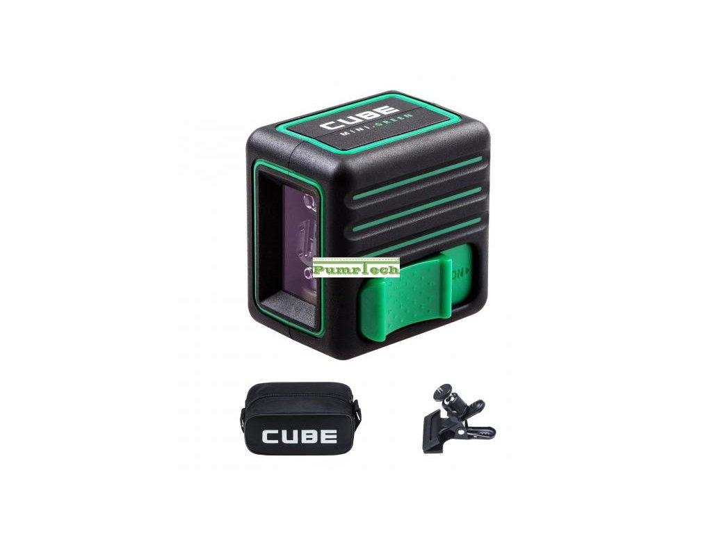 Křížový laser ADA Cube Mini Home Green - zelený paprsek