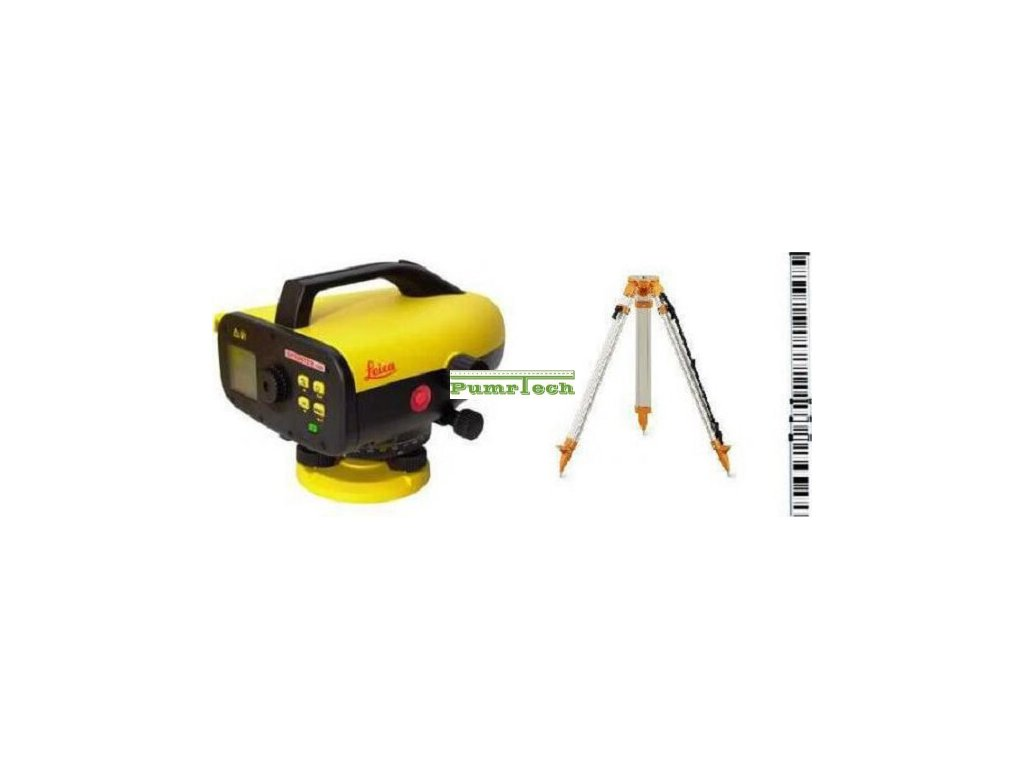 Digitální nivelační přístroj Leica Sprinter 250M sada - stativ, lať