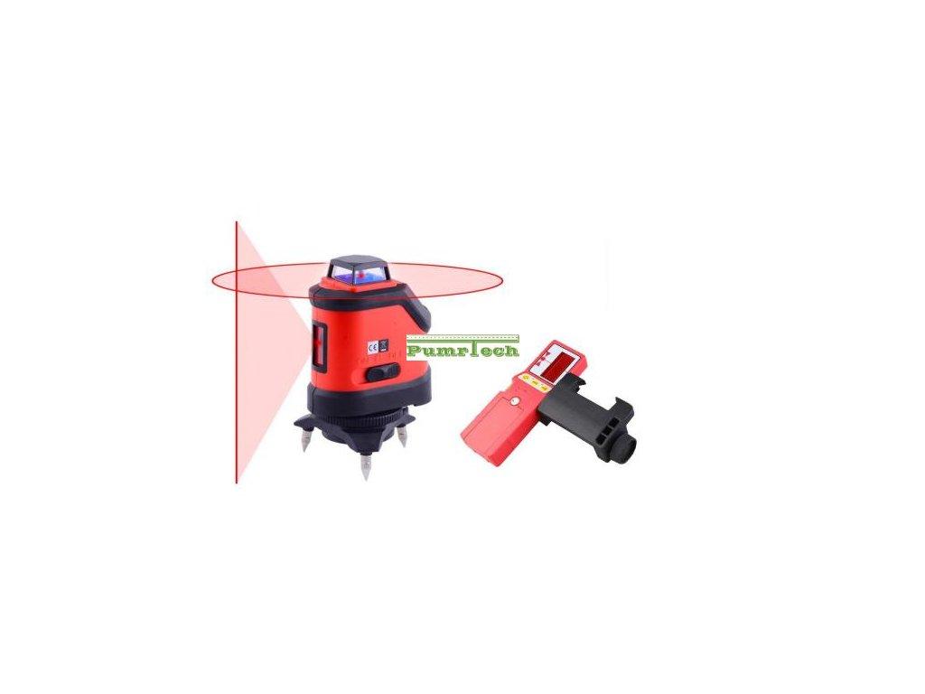 Křížový laser FKD EK-190R + přijímač