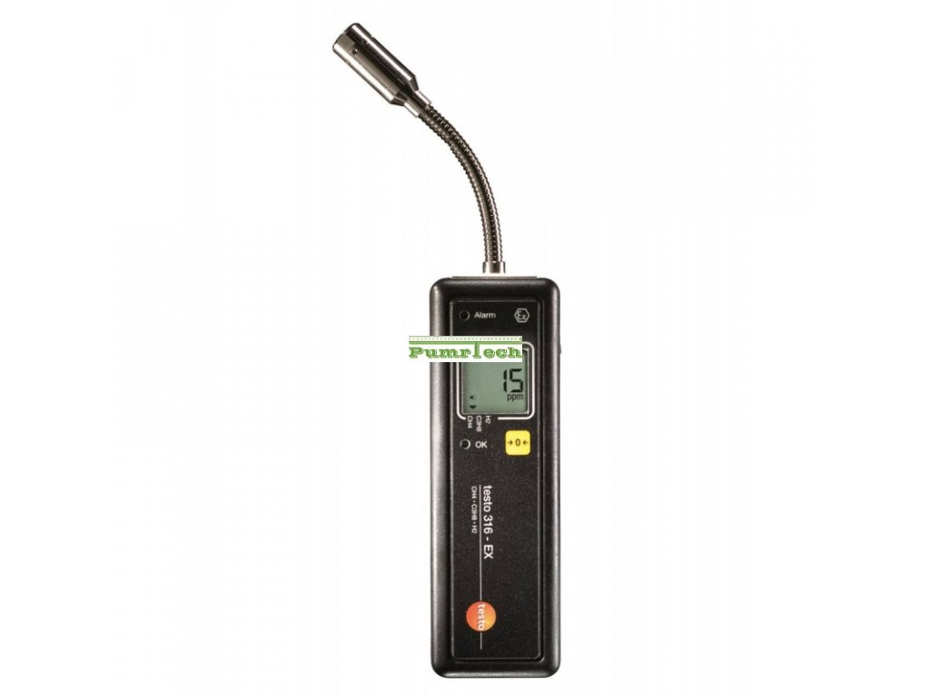 testo 316 ex detektor uniku plynu