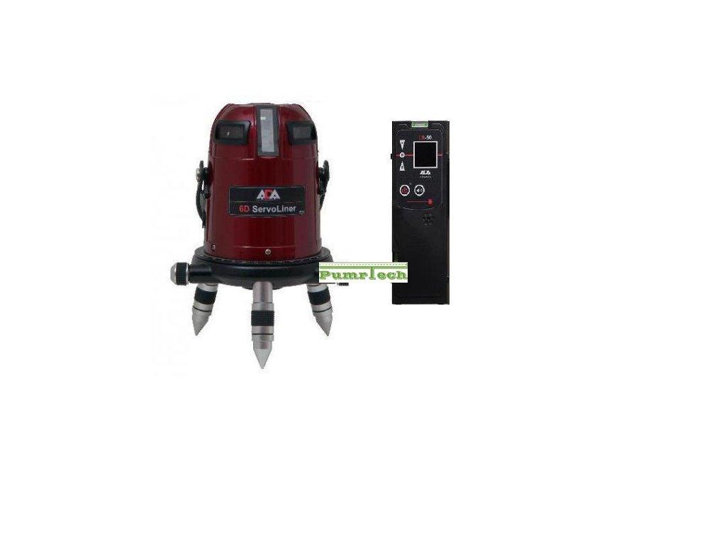Křížový laser ADA 6D Servoliner + přijímač