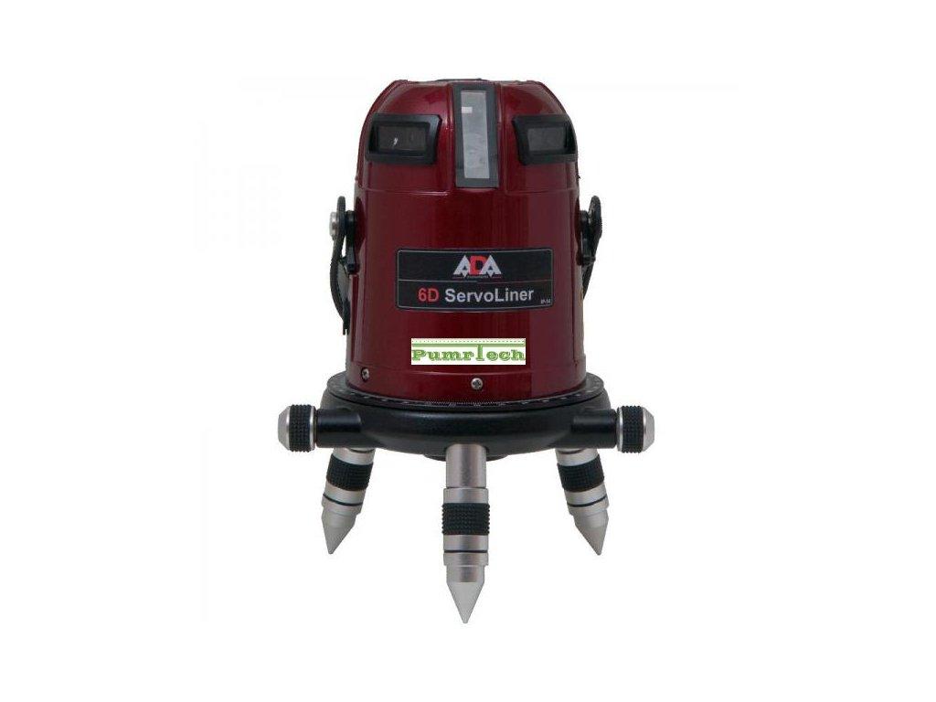 Křížový laser ADA 6D Servoliner