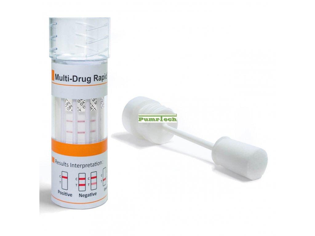 Jednorázový test na drogy ze slin, iScreen® 9