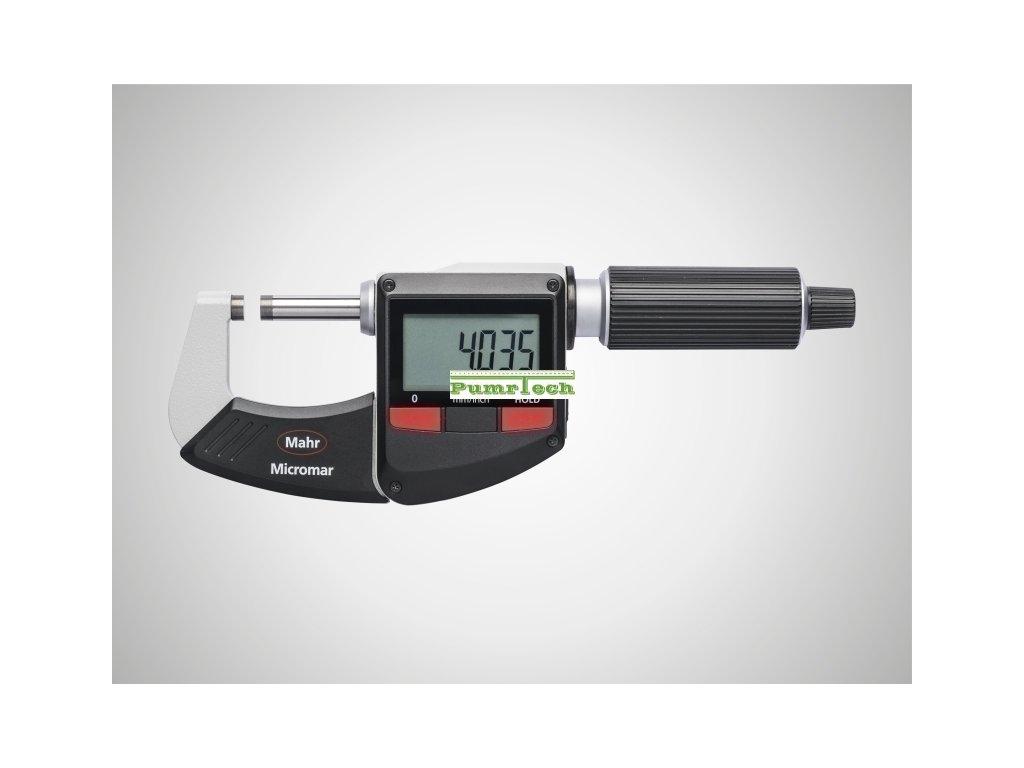 Digitální třmenový mikrometr 25-50 mm s bezdrátovým výstupem dat