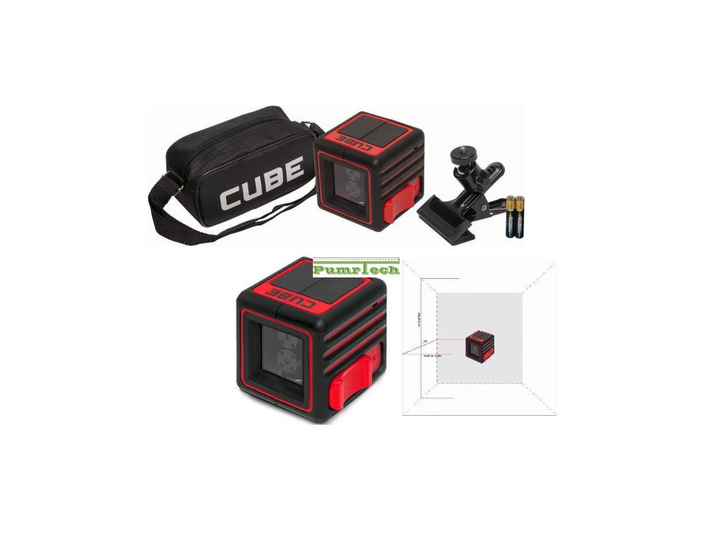 Křížový laser ADA Cube Home 2mm/10m