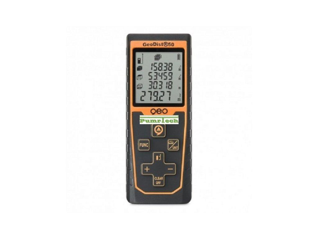 Laserový dálkoměr GeoDist50