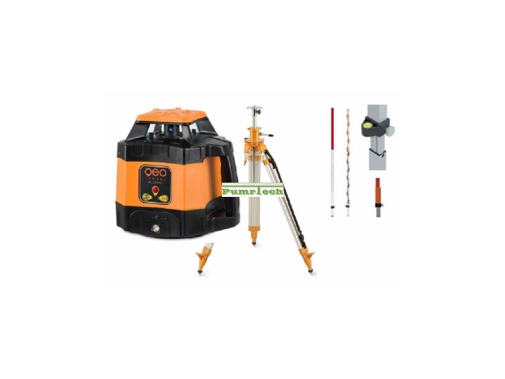 Rotační laser FL 220HV sada