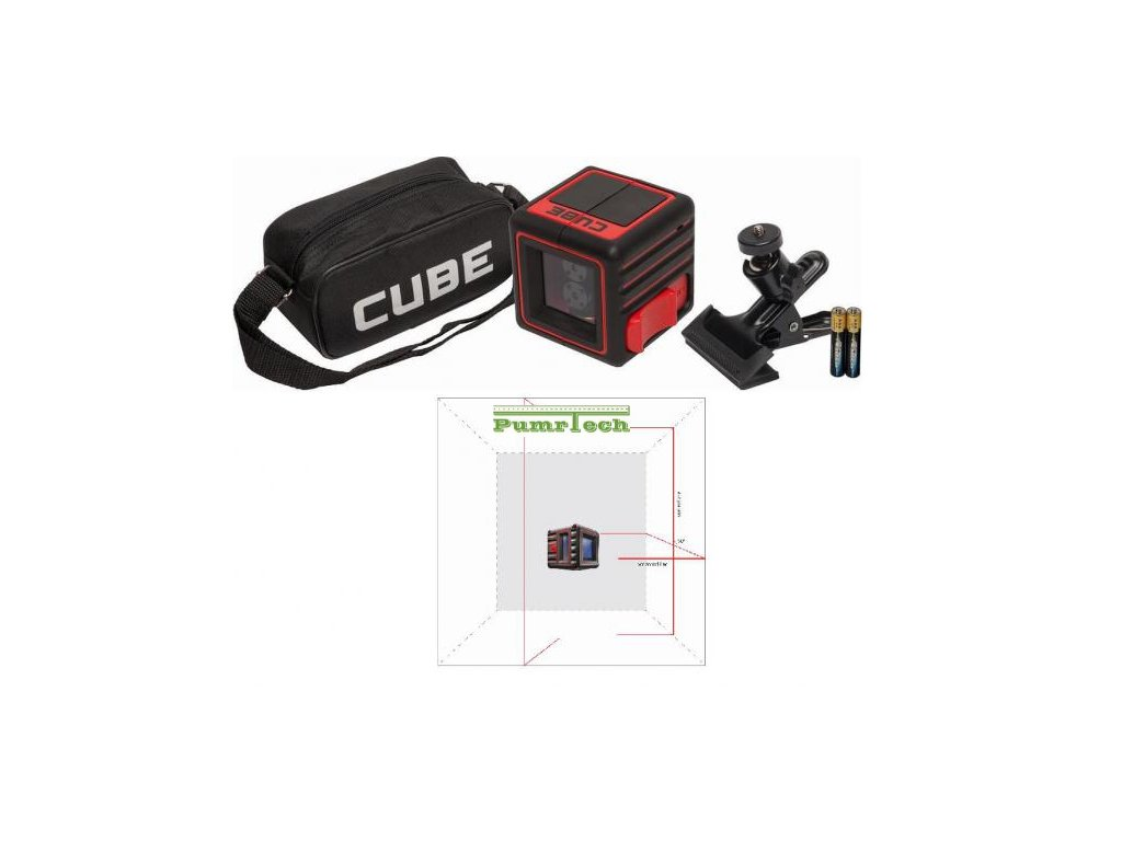 Křížový laser ADA Cube 3D Home