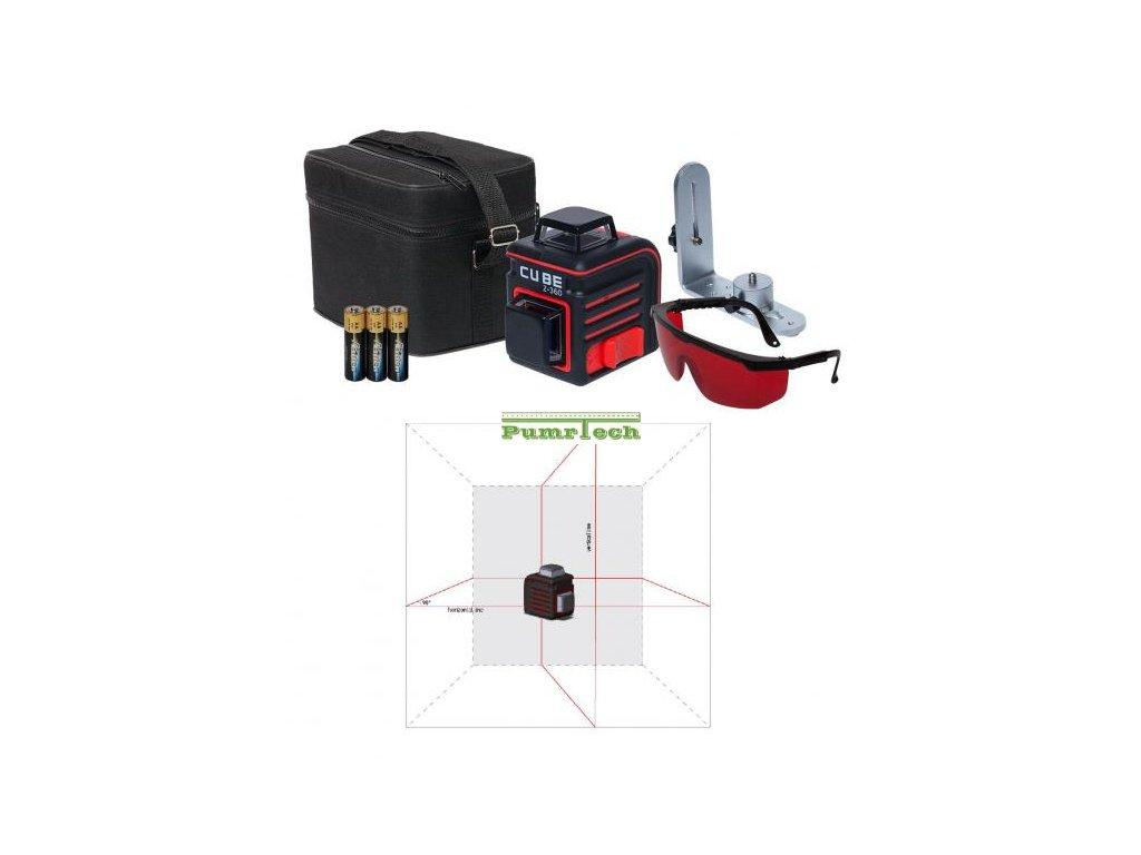 Křížový laser ADA, Cube 2-360 Home
