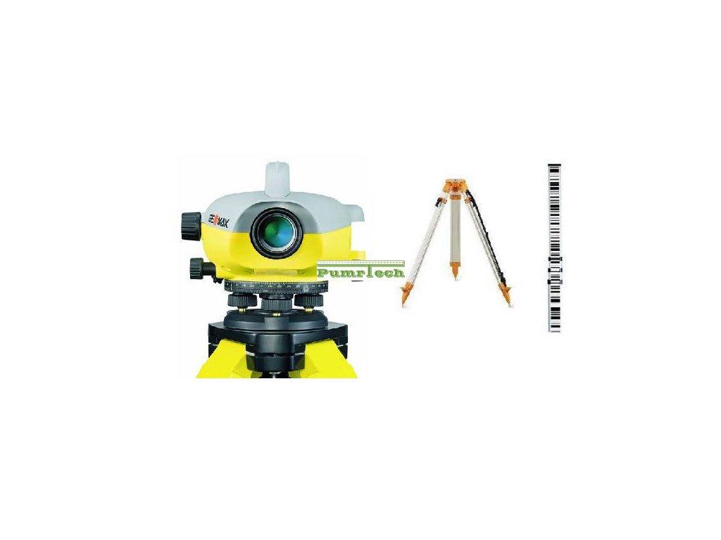 Digitální nivelační přístroj GeoMax ZDL700 sada - stativ, lať