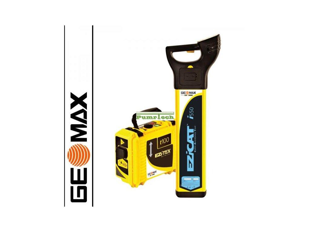 Vyhledávač vedení Geomax Ezicat i550 + generátor