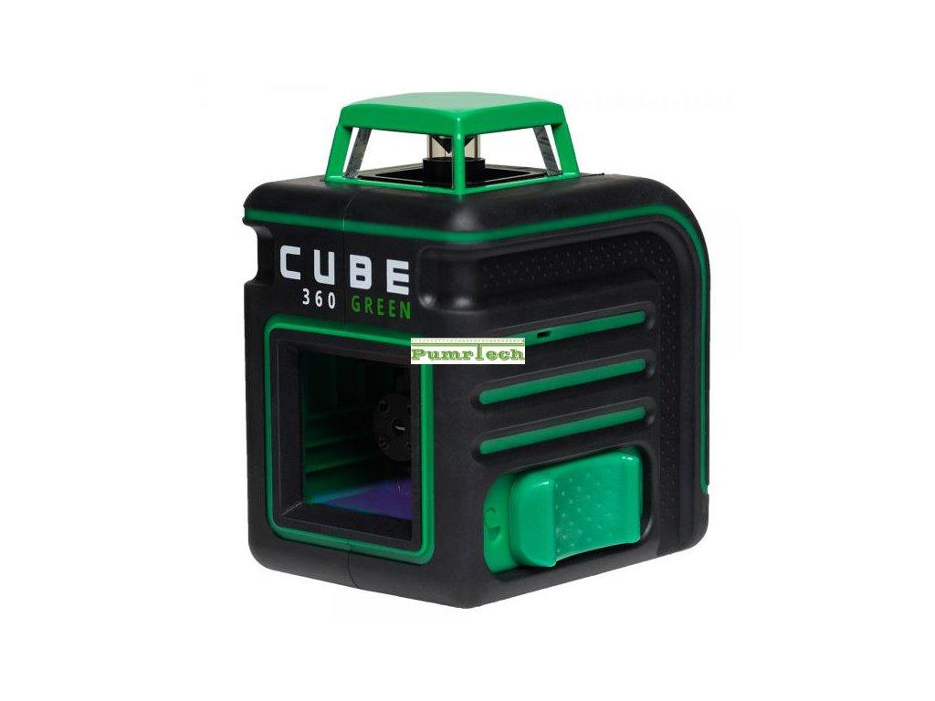 Křížový laser ADA Cube 360 Ultimate Green