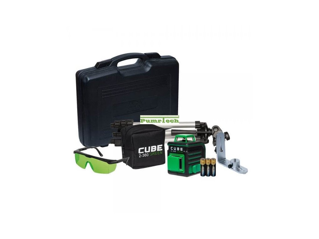 Křížový laser ADA Cube 2 360 Ultimate Green