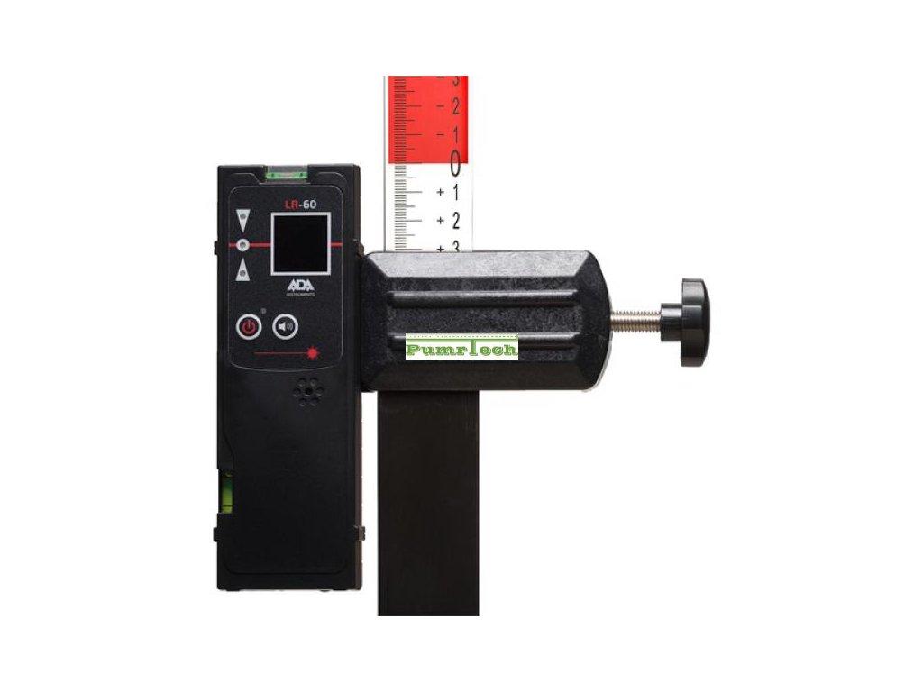 Přijímač pro křížové lasery LR-60 Red