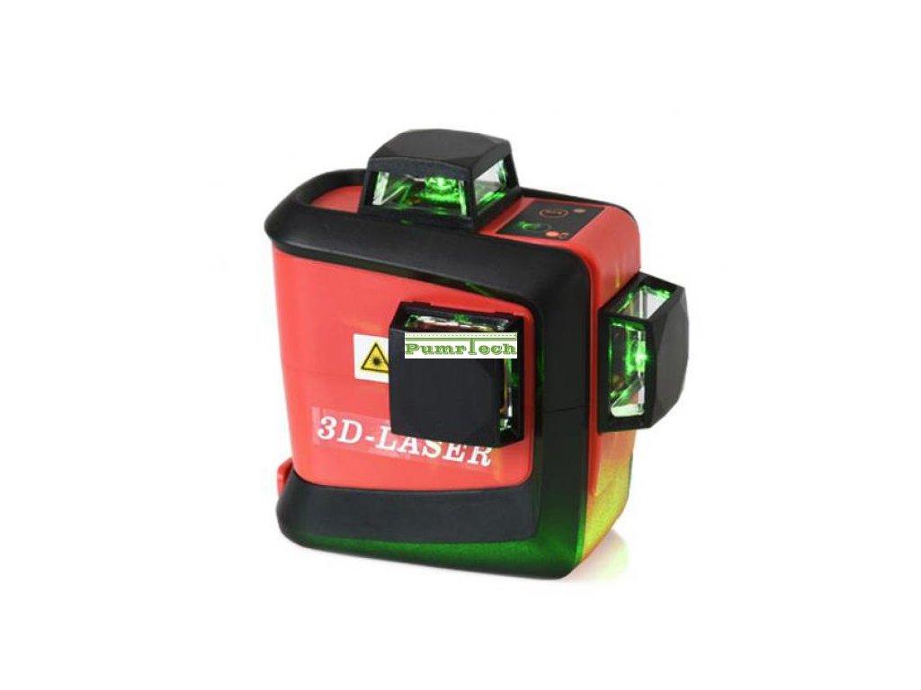 Křížový laser FKD MW-93T 3 x 360 Green - zelený paprsek