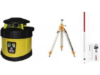 Rotační laser FKD FRE 205+stativ s klikou a lať