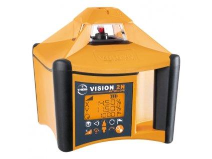 Rotační laser VISION 2N + přijímač FR77-MM + dálkové ovládání FB-V pro vodorovnou a svislou rovinu s digitálním sklonem osy X a Y