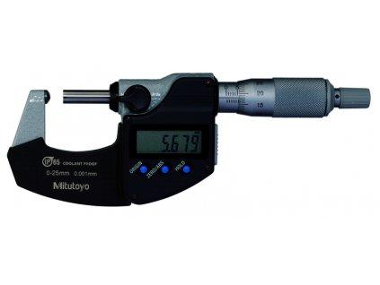 Digitální třmenový mikrometr 0-25 mm od Mitutoyo