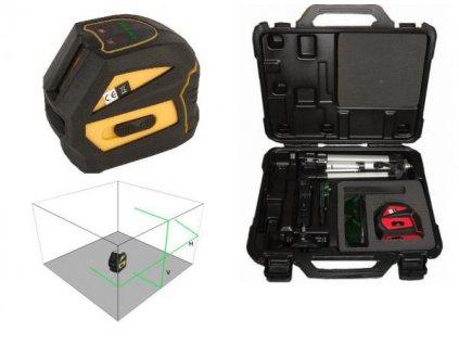 Křížový laser FKD EK-118G se zeleným paprskem