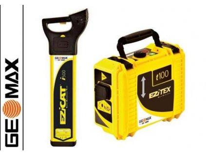 Vyhledávač vedení Geomax Ezicat i500 + generátor