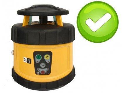 Rotační laser FKD FRE205G - zelený paprsek