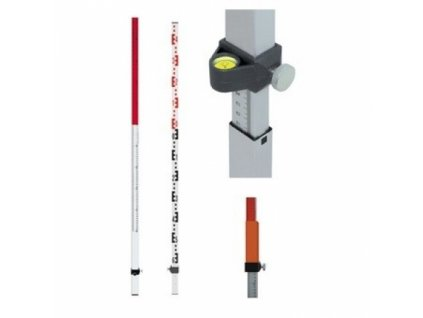 Laserová lať TN 20-kombi