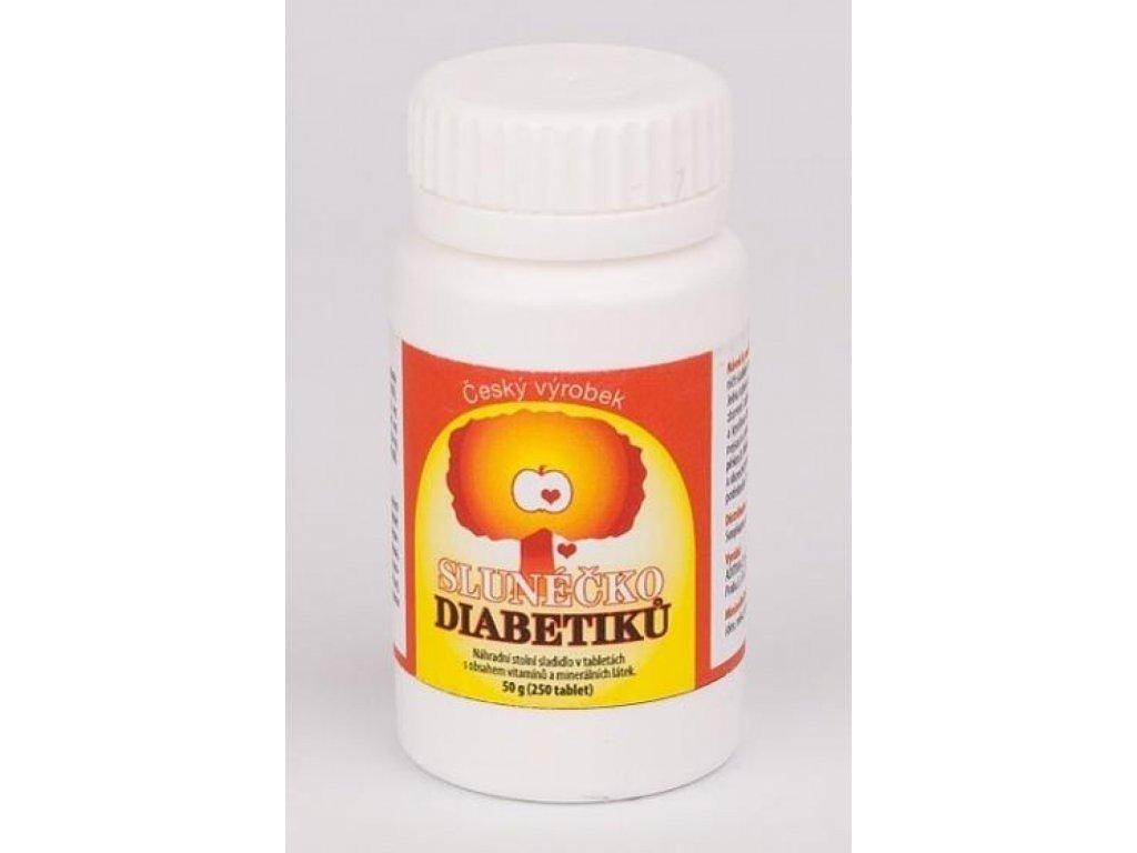 Slunéčko diabetiků 250 tablet - unikátní sladidlo