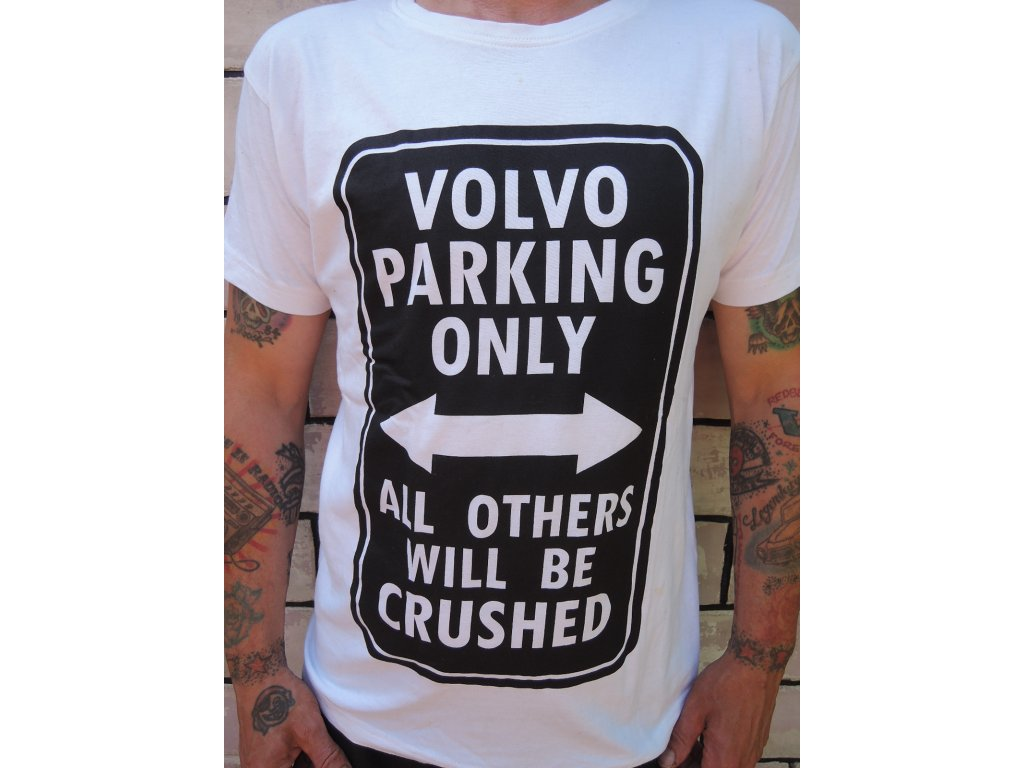 Volvo parking only