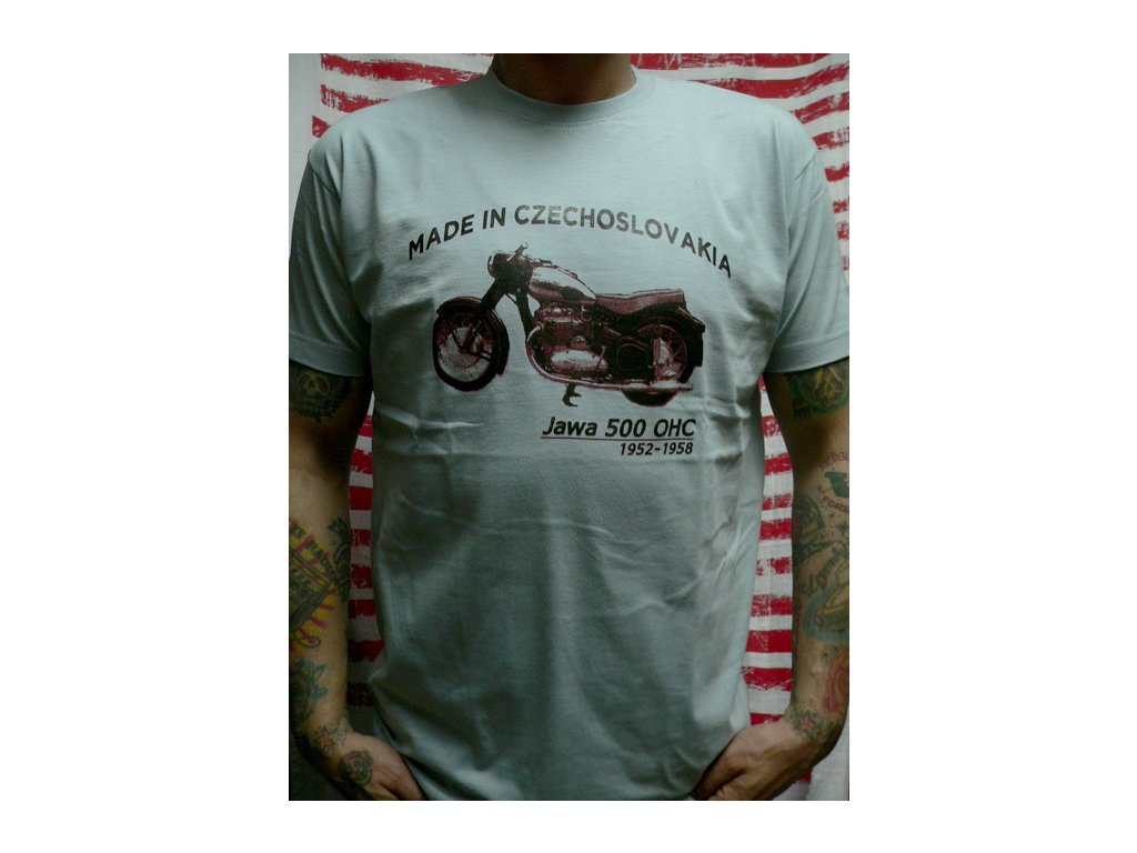 motocykl Jawa 500
