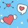 Valentinské srdíčka